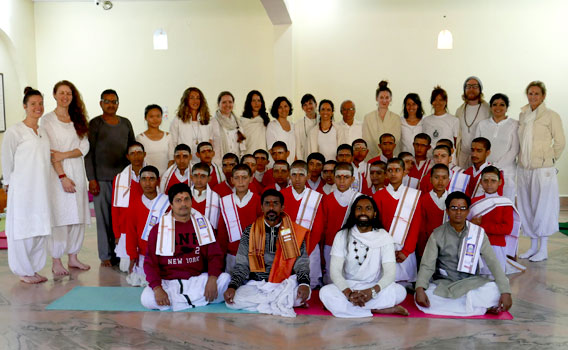 CHARITY PROJECT RISHIKESH INDIA  Patanjali Yoga Teacher Training School