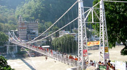 Laxmanjhula: Near to patanjali yoga teacher training school in rishikesh